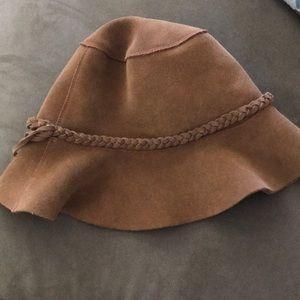 Floppy Leather Boho Hat
